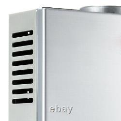 16L GAS LPG Hot Water Heater Propane Tankless Stainless Instant Boiler +Shower
