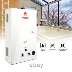 18L 4.8GPM Tankless LPG Liquid Propane Gas House Instant Hot Water Heater Boiler