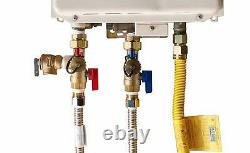 3/4 Gas Tankless Water Heater Isolation Installation Complete Kit Lead-Free