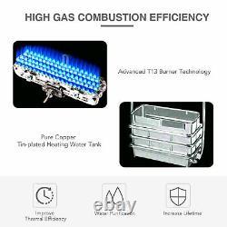 32KW 16L Gas LPG Propane Tankless Instant Hot Water Heater Boiler UK