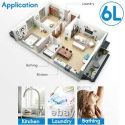 6L 10KW Tankless Rapid Heating Water Heater Liquid Propane Gas Instant