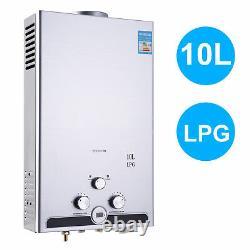 8/10/12/16/18L Instant Gas Hot Water Heater Tankless Gas Boiler LPG Propane UK
