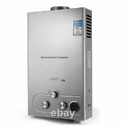 8L/12L/16L/18L Instant Hot Water Heater Tankless LPG Propane Gas Boiler Shower