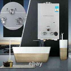 8L/12L/16L/18L LPG Propane Gas Tankless Hot Water Heater Instant Boiler Shower