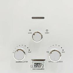 8L/min LPG Propane Gas Tankless Water Heater Instant Hot Water Shower Kit 2.11GM