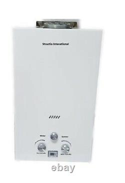 Camping Shower Gas Tankless Water Heater Boiler Portable 10 L