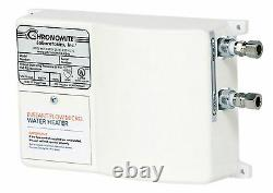 Chronomite M-30L/120 Instant-Flow Micro Tankless Electric Hot Water Heater 110F