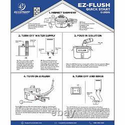 Eccotemp EZ-FLUSH 350 GPH Electric System Descaler Kit for Tankless Water Heater