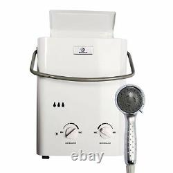 Eccotemp L5 Portable Tankless Water Heater and Outdoor Shower. Free shipping