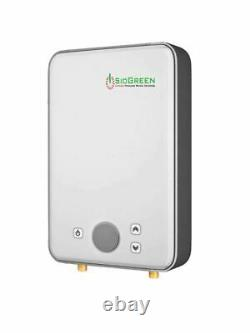 Electric Water Heater Tankless SioGreen IR-288POU 220 v 2.1 GPM Best US Seller