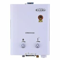 Excel 1.6 Gpm Tankless Gas Water Heater (low Pressure Startup) Ventfree (lpg)