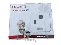 FOGATTI On-Demand RV Water Heater LP Gas Tankless Automatic Instant Hot