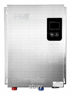 IHeat AHS-24D Electric Tankless Water Heater Whole House Application Drakken