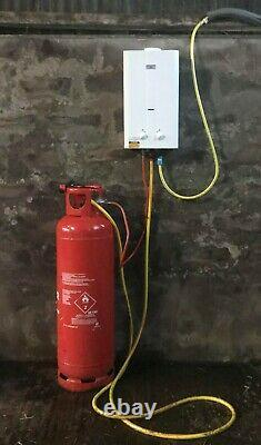 KEEWAY ECCOTEMP L10 PORTABLE TANKLESS GAS HOT WATER HEATER 37mbar