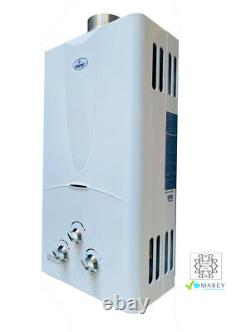 Natural Gas Water Heater Tankless On-Demand Marey GA10FNG 2.7 GPM Best US Seller