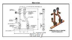 Navien GFFM-MCOZUS-001 Tankless Heater Condensing Boiler, Manifold Valve Kit
