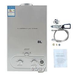 Portable LPG Propane Gas Hot Water Heater 8/10/12/16/18L Tankless Instant Boiler
