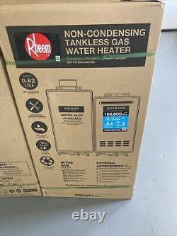 RHEEM RTG-84XLN-1 Mid-Efficiency 8.4GPM Outdoor Natural Gas Tankless Water