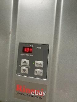RUR199IN 199,000 BTU, Condensing Indoor Tankless Water Heater (Natural Gas) S-11