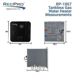 RV Tankless Water Heater On Demand Hot Water Heater Remote Control Included