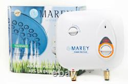 Refurbished Marey Electric POU Tankless Water Heater PP220 2.5GPM 220V 40 AMP