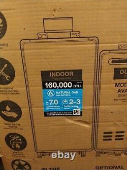 Rheem Non-Condensing Tankless Gas Water Heater 160,000 BTU Nat Gas RTG-70DVLN-1