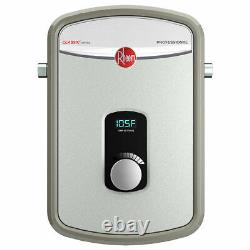 Rheem RTEX-08 240-Volt 1-Chamber 8.0kW Electric Tankless Water Heater