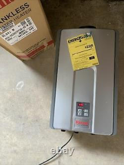 Rinnai Indoor Tankless Hot Water Heater RL94IN Natural Gas S-4