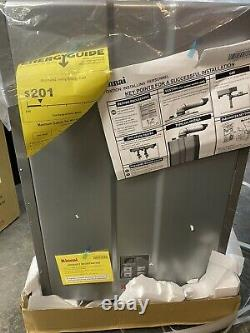 Rinnai RU160iN Sensei 9 GPM 160000 BTU Natural Gas Tankless Water Heater, Silver