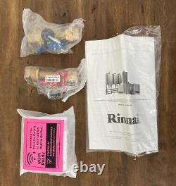Rinnai RUR160EN Series Sensei SE+ Tankless Hot Water Heater Outdoor Installation