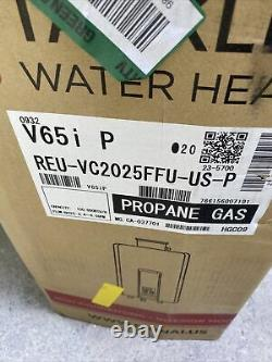 Rinnai V65iP Tankless Water Heater Propane Gas REU-VC2025FFU-US-P Q-32