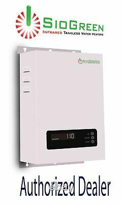 SioGreen Tankless Water Heater Electric SIO14 Best US Seller 3.5 GPM 220 Volt