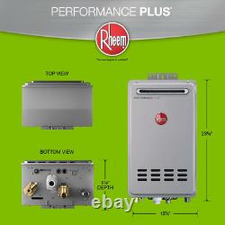 Tankless Water Heater Boiler Performance Plus 7.0 Gpm Liquid Propane Outdoor