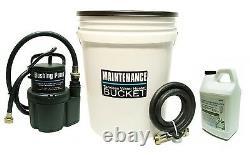 Tankless Water Heater Flushing, Descaler Kit Quietside, Bradford White, Richmond