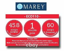 Water Heater Tankless Electric Best Tiny House 3 GPM 220V Marey ECO110 Dealer