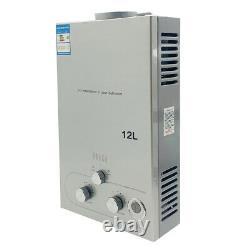 12l Chauffe-eau Chaude Sans Réservoir Propane Gaz Gpl 24kw 3.2gpm Chauffe-eau Instantanée