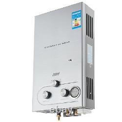 12l Gas Chauffe-eau Chaude Au Gpl Propane Chaudière Instantanée Sans Réservoir En Acier Inoxydable