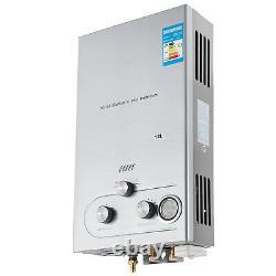 12l Gas Chauffe-eau Chaude Au Gpl Propane Chaudière Instantanée Sans Réservoir +douche