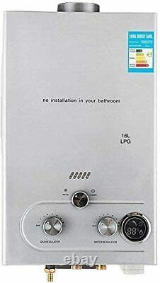 220v 16l-lpg Electric Tankless Chauffe-eau Chaude Instantanée Pour L'utilisation De La Douche De Cuisine