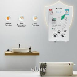 6l 10kw Chauffage Rapide Sans Réservoir Chauffe-eau Gaz Propane Liquide Instantané
