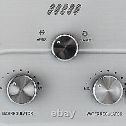 8l 16kw Chauffe-eau Chaude Propane Gpl Gaz Sans Réservoir Kit De Douche Instantanée Chaudière