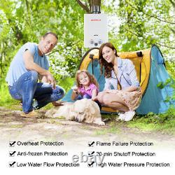 Camplux 6l 12kw Chauffe-eau Sans Réservoir Chaudière À Gaz Instantanée Lpg Propane Extérieur