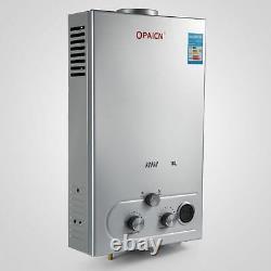 Chaudière À Eau Chaude 8l Gas Propane Sans Réservoir Chaudière Instantanée Sans Réservoir +douche