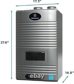 Chauffe-eau 11gpm Ultra Low Nox Natural Gas Condensing High Efficiency Tankless
