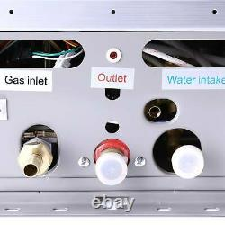 Chauffe-eau 18l 36kw Réservoir Sans Réservoir Chaudière Au Gaz Instantané Au Propane