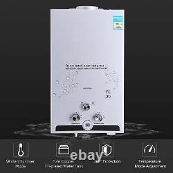 Chauffe-eau Chaud Instantané 16l 32kw Chaudière À Gaz Sans Réservoir Lpg Propane