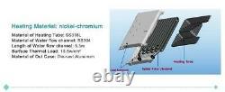 Chauffe-eau Chaude Instantanée Sans Réservoir Électrique LCD Multipoint 9kw / 11kw Ou 13,5kw