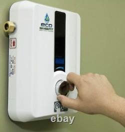 Chauffe-eau Électrique Sans Réservoir Instantané À La Demande, 8000 Watts
