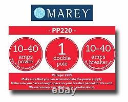 Chauffe-eau Électrique Tankless 2.5 Gpm 220v Best Tiny House Marey Pp220