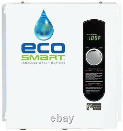 Chauffe-eau Électrique Tankless Whole House Instant Hot On Demand Ecosmart 18 Kw